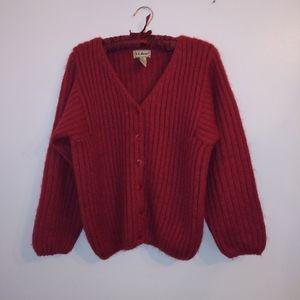 LL Bean chunky knit sweater